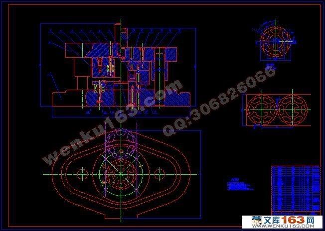 花盘倒装式复合冲裁模的设计(含cad零件图和装配图)